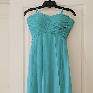 Le Chateau strapless sweetheart dress